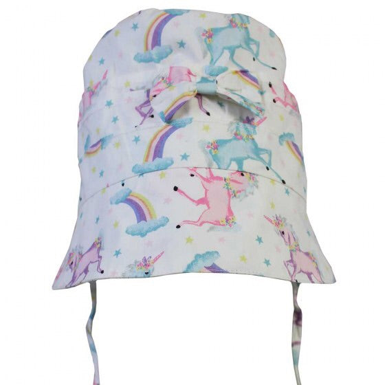 Unicorn Print Bonnet 0-12 MNTHS