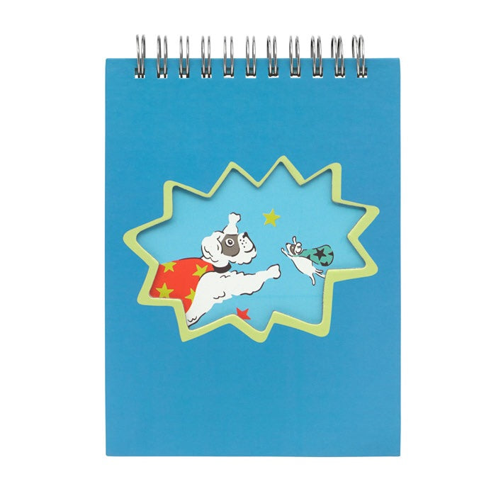Super Dogs Kids Novelty Notepad