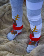 Fluffy Robin Socks 0-6 YRS