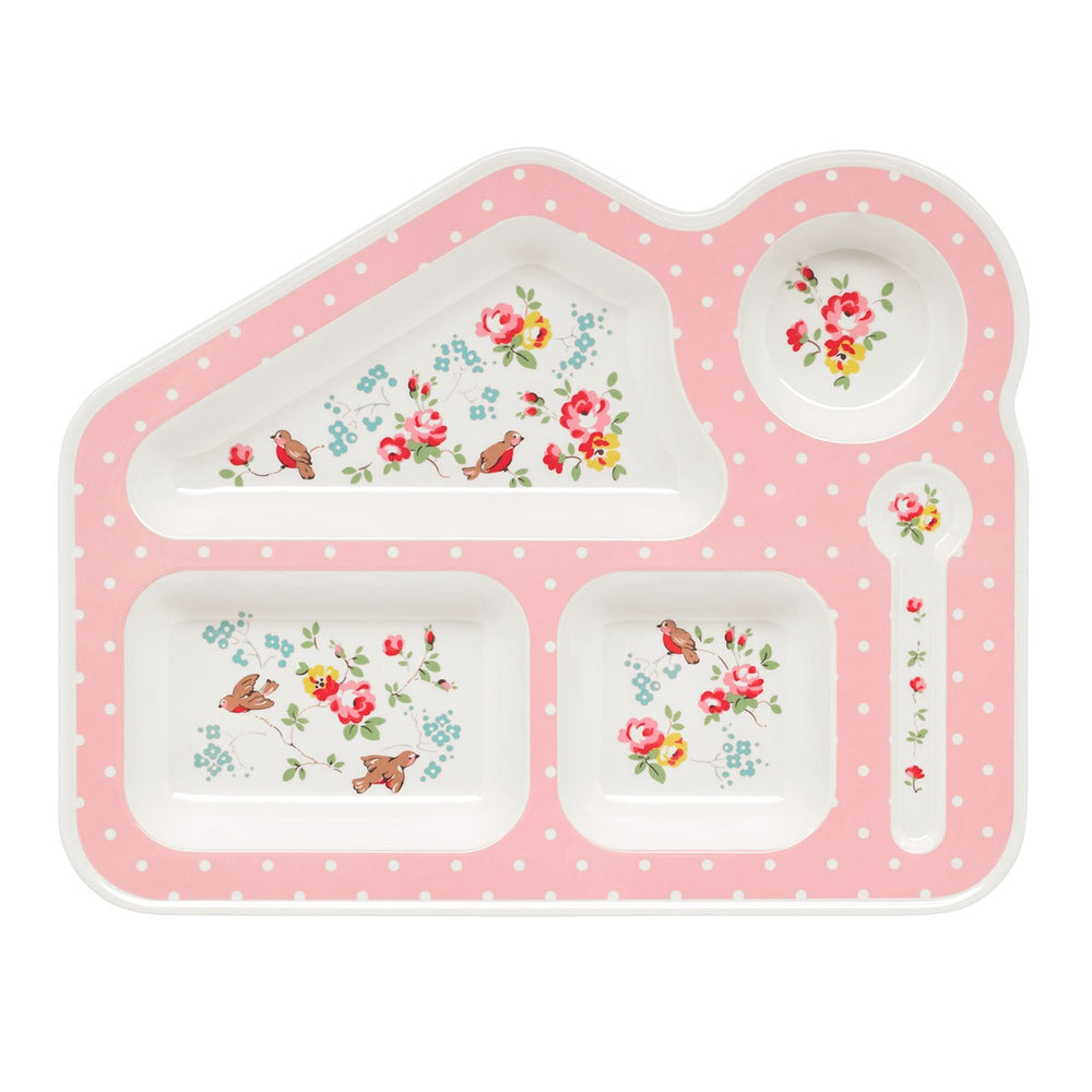 Melamine Food Tray Birds