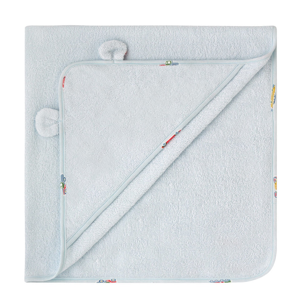 NEW Garage Stations Hooded Towel