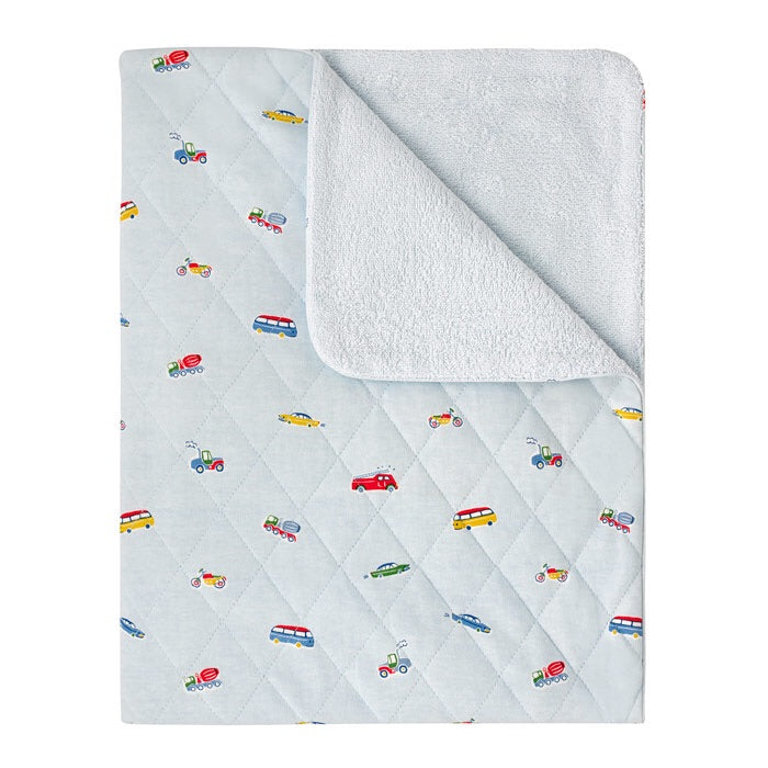 Large Spaced Garage Station Baby Blanket