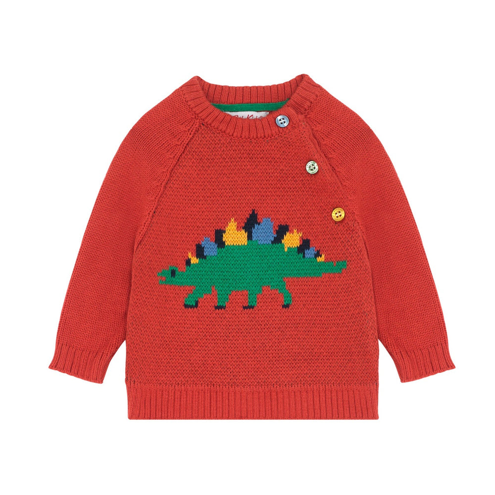 Dino Stamp Baby Knitwear 0-24 MNTHS