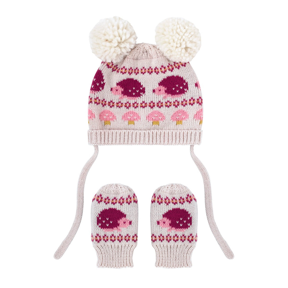 Mini Garden Club Hat and Mittens Set