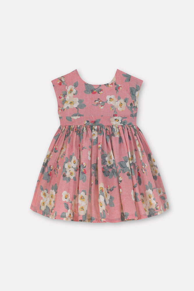 Baby Charlotte V Back Mayfield Blossom Dress 0-24 MNTHS