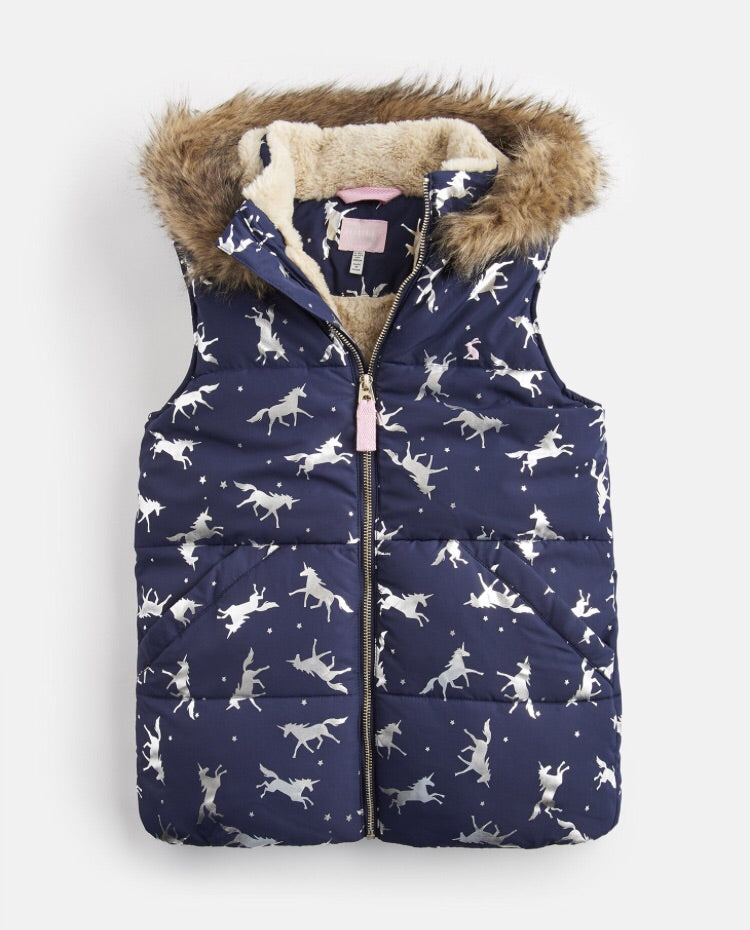 Rhea Faux Fur Gilet 1-8 YRS