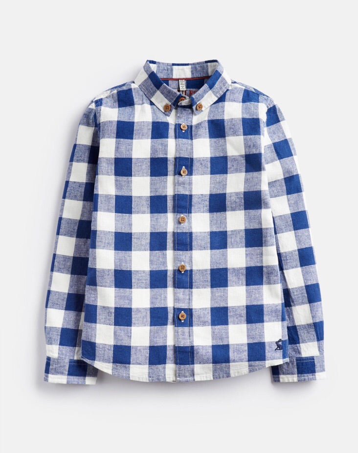 Joules Sark Check Shirt 3-12 YRS