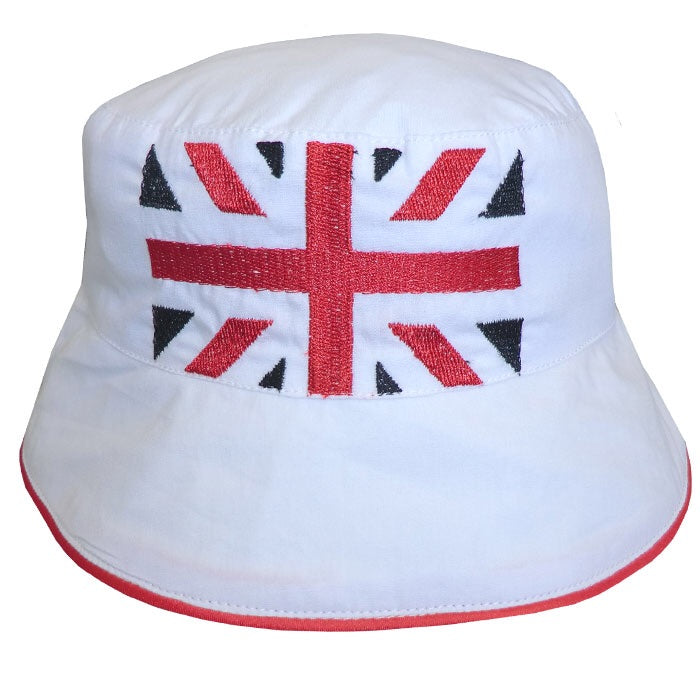 Union Jack Cotton Sun Hat One Size 0-3 years
