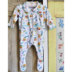 Mermaid Print Baby Jumpsuit 0-6 MNTHS