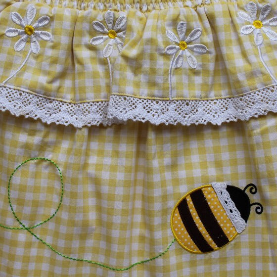 Bumble Bee Romper