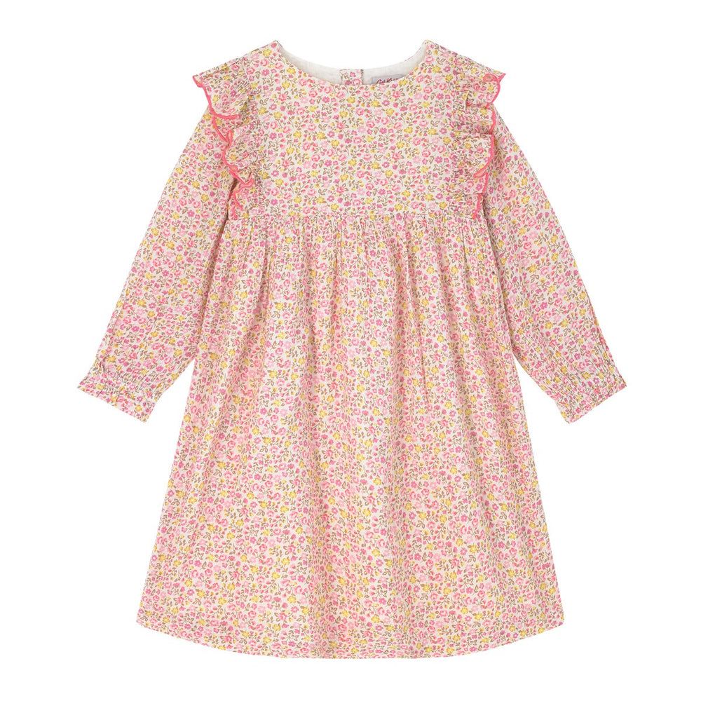 NEW Ashbourne Ditsy Kids Long Sleeve Dress