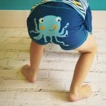 Blade and Rose Octopus Swim Shorts 0-4 YRS