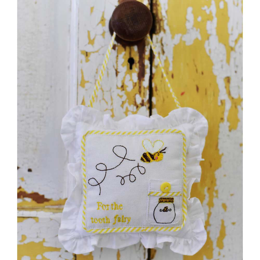 Bumble Bee Tooth Fairy Cushion