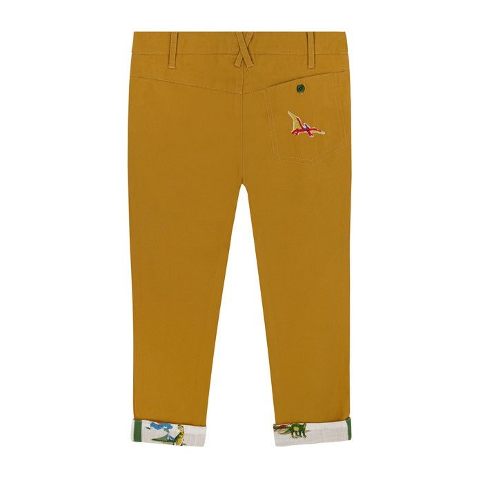 Skateboard Dino Kids Slim Fit Trousers 1-8 YRS