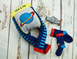 Outer Space Socks 0-4 YRS