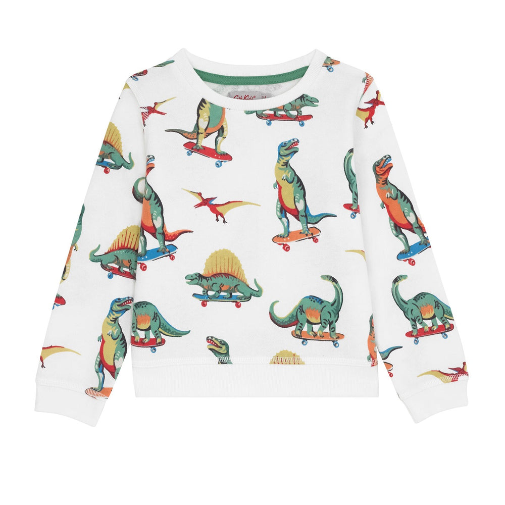 Skateboard Dino Kids Sweatshirt
