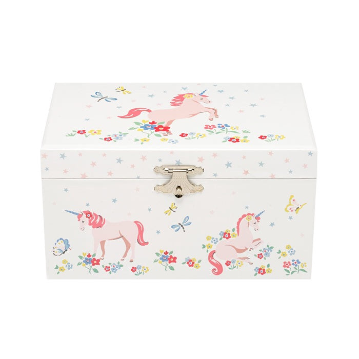 NEW Unicorn Meadow Unicorn Jewellery Box