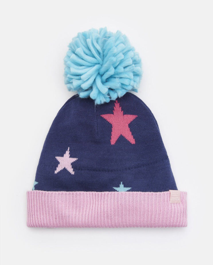 Halley Oversized Bobble Hat 4-12 YRS