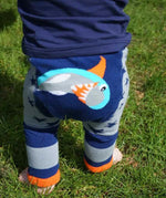 Shark Leggings 0-3 YRS