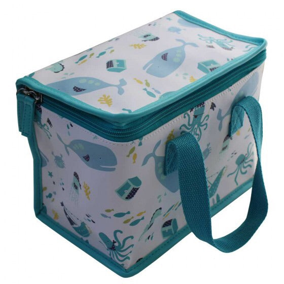 New Deep Sea Print Lunch Bag