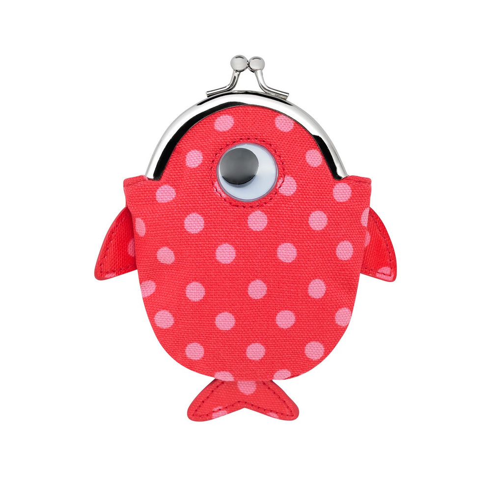 Little Spot Kids Novelty Fish Clasp Purse