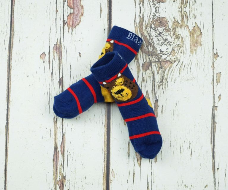 Fluffy Bear Socks 0-4 YRS