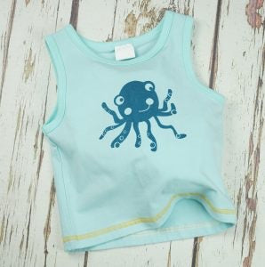 Blade and Rose Octopus Vest 0-4 YRS