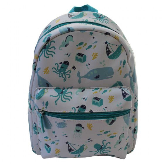 New Deep Sea Print Backpack