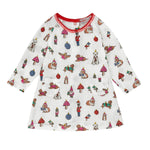Mini Novelty Baubles Dress 0-18 MNTHS