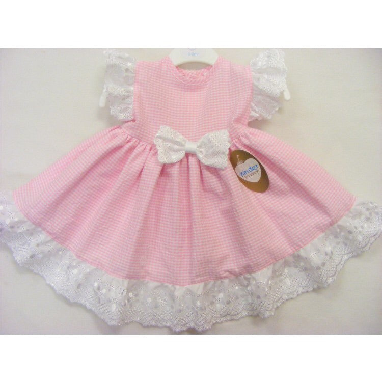 Gingham Dress 0-3 YRS