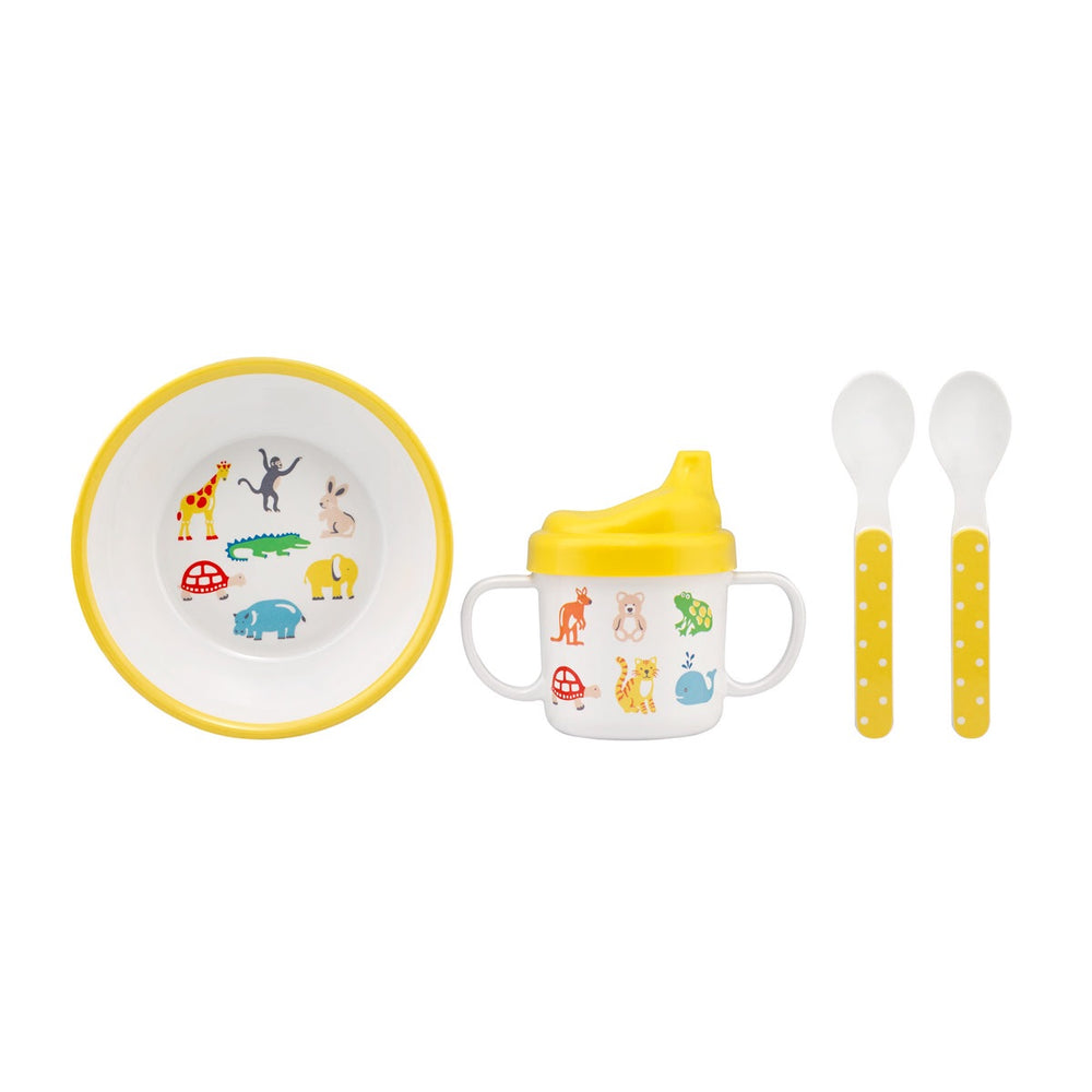 NEW Nursery Animals Melamine Set