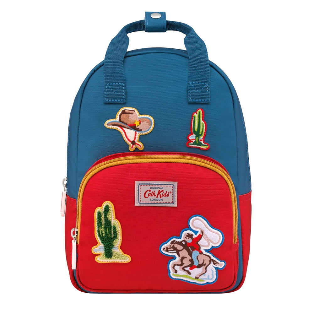 Cowboy Badges Medium Backpack