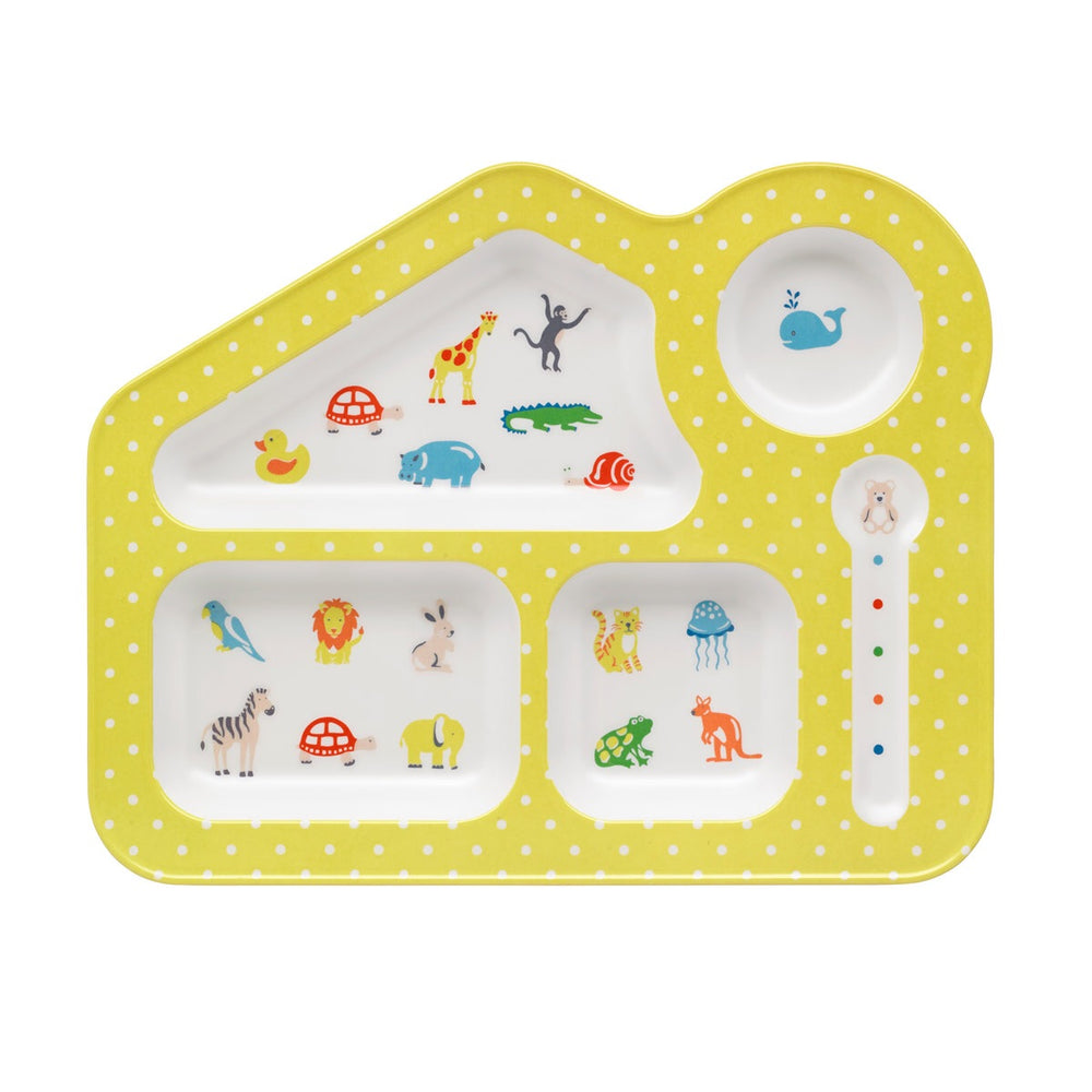 CATH KIDSTON Nursery Animals Food Tray