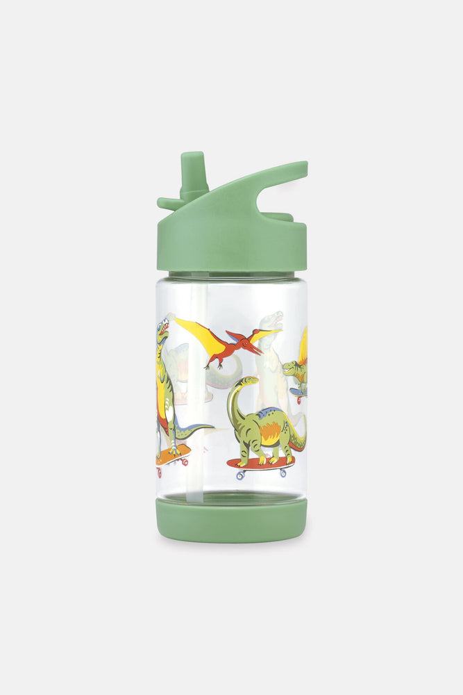 Drinking Bottle Dino Skateboard