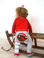Fluffy Robin Leggings 0-4 YRS