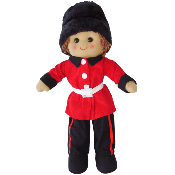 Powell Craft LONDON SOLDIER 40cm Rag Doll