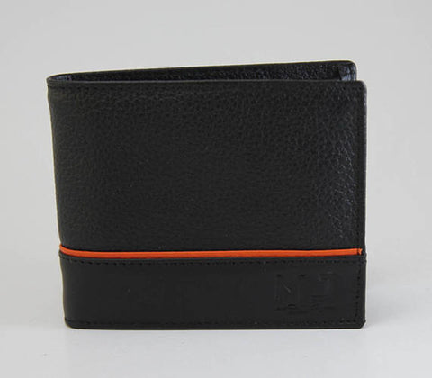 MJ leather wallet - wallet - leather wallet -