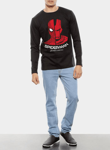 Spiderman Homecoming Reunion Full Sleeves T-shirt