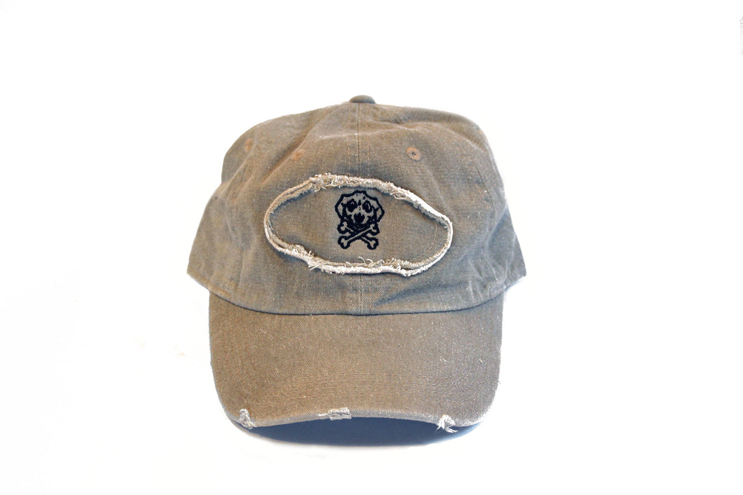 Personalized Patch Hat With Outline Logo