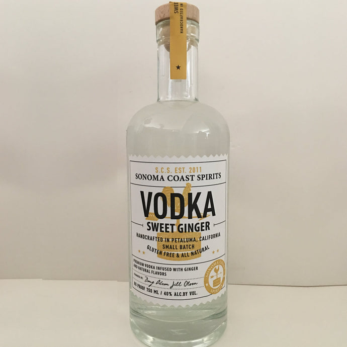 Sweet Ginger Vodka Sonoma Coast Spirits