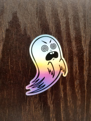 Hypno Ghost - Holographic Sticker