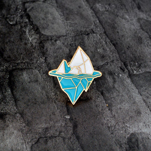 HIDDEN DEPTH - Enamel Pin