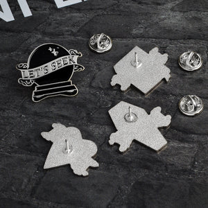 LET´S PLAY - Enamel Pins
