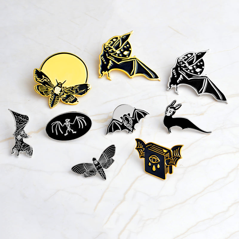 CREATURES OF THE NIGHT - Enamel Pins