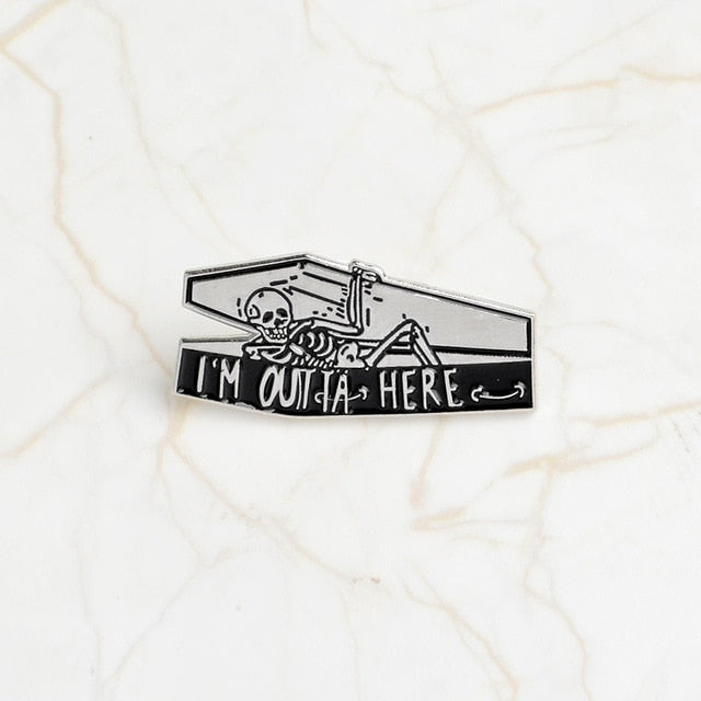 COFFIN - Enamel Pin