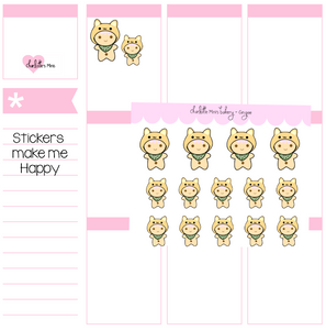Planner Minis - Sugee - Shiba Hat
