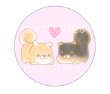 Button Pins - Shibas In Love