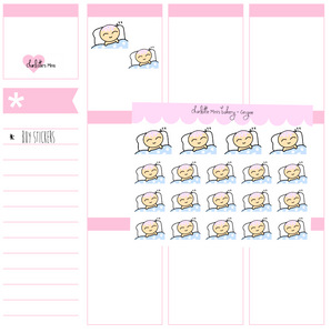 Planner Minis - Sugee - Sleeping Sugee