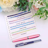 Planner Accessories - Bow + Galaxy Bundle (5mm)