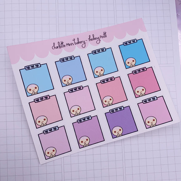 Planner Minis - Sugee - Thinking Sticky Note